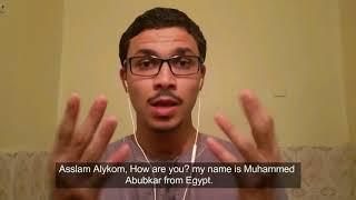 Learn Arabic, Arabic(Egyptian) and  Arabic(Modernstandard) with Muhammad Bakour on italki