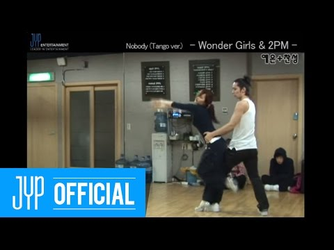 "[Undisclosed clip] Wonder Girls & 2PM ""Nobody Tango ver."" MKMF2008 #3"