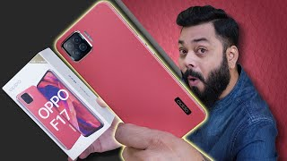 OPPO F17 Unboxing And First Impressions ⚡⚡⚡ Leather-Like Back, AI Cameras, 30W VOOC 4.0 & More