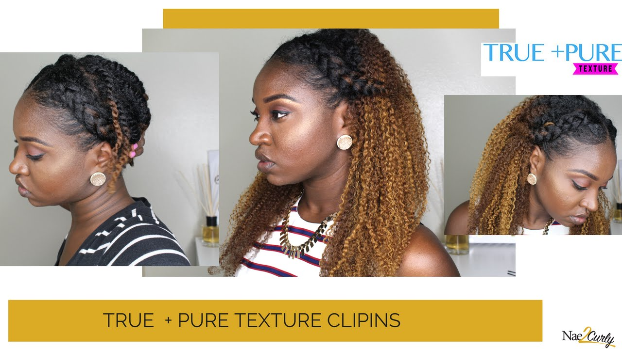 Easy Look With Extensions True And Pure Texture Youtube