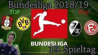 BUNDESLIGA 18/19 19.Spieltag - Zusammenfassung & Ergebnisse