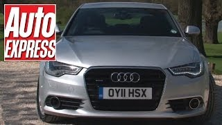 New Audi A6 vs Mercedes E-Class vs BMW 5 Series - Auto Express