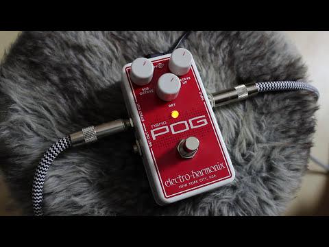 Electro-Harmonix Nano POG | polyphonic octave generator