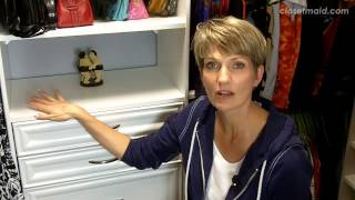 Master Closet Makeover: Before & After | Clutter Video Tip