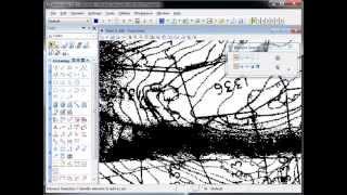 Descartes - Raster - Using Colour Masks to savlage a scanned drawing