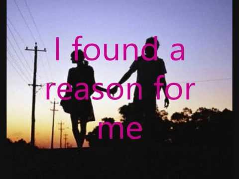 Hoobastank - The Reason (with lyrics in the video)