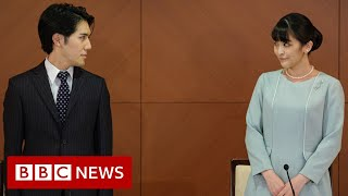Japan's Princess Mako finally marries commoner boyfriend - BBC News