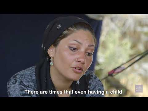 Trapped: Asylum Seekers in Lesbos, Greece, Accessible Version