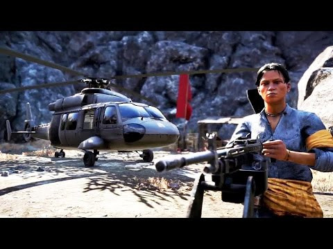 FAR CRY 4 - Escape From Durgesh DLC Gameplay Trailer