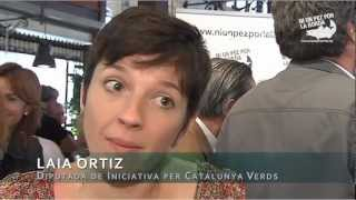 Iniciativa Per Catalunya Verds con Niunpezporlaborda.org