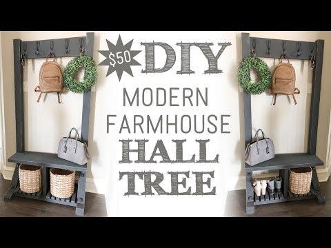modern-farmhouse-hall-tree