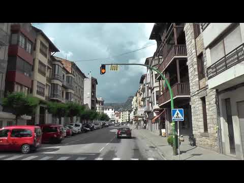 Andorra (2018) Day-1 Transfer Barcelona-Andorra by bus