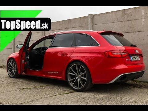 Test: Audi RS4 typ B8 TopSpeed.sk