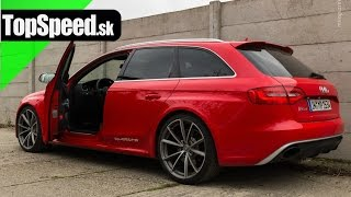 Test Audi RS4 typ B8 TopSpeed.sk