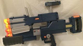 vintage review wayne tech tri fire blaster batman the dark knight