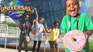 Universal Studios Orlando! Harry Potter, Jurassic Park, Transformers | Onyx Family Vlogs