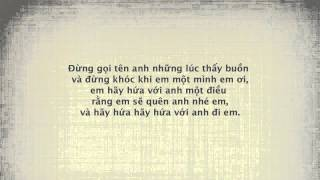 Hãy Quên Anh - Nguyễn Hoàng Nam (+lyrics & vsub)