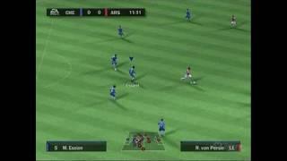 FIFA Soccer 10 PlayStation 2 Gameplay - Chelsea vs. Arsenal