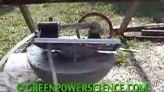 SOLAR POWER STEAM ENGINE 2 FRESNEL LENS GREENPOWERSCIENCE