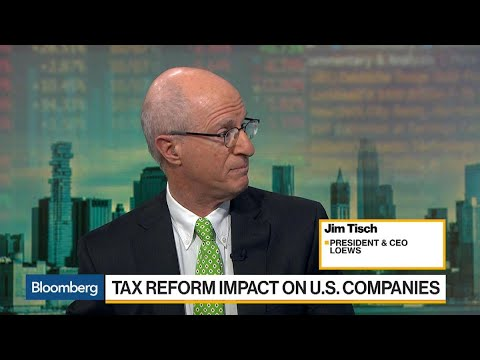 Loews CEO Tisch on Tax Bill, Buybacks, Offshore Drilling