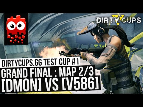 Dirty Cups Test Cup #1 Grand Finals! - dMon vs v586 - Map 2