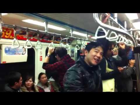 台北地鐵車箱 Taiwan xe lua MTR