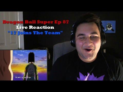 Dragon Ball Super Episode 87 Live Reaction