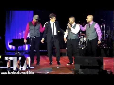 TKA & Dr. Oz Performing at the HealthCorps' Garden of Angels Gala april 18