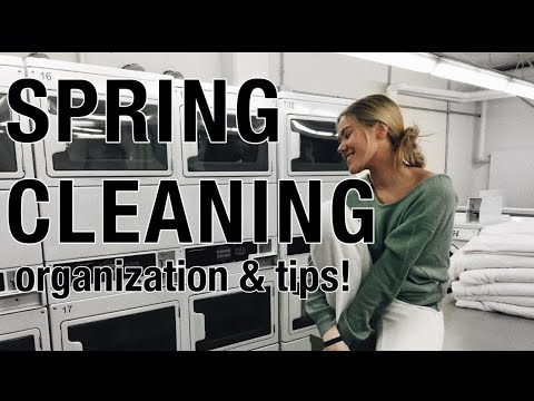 Spring Cleaning 101 (Getting yourself organized)
