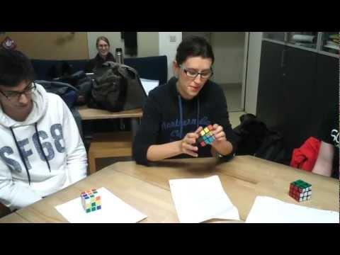 5:28.53 Vienna University of Technology World Inter-University Cube Relay 2012-2013