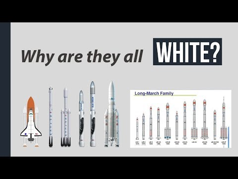 Why are most rockets White?