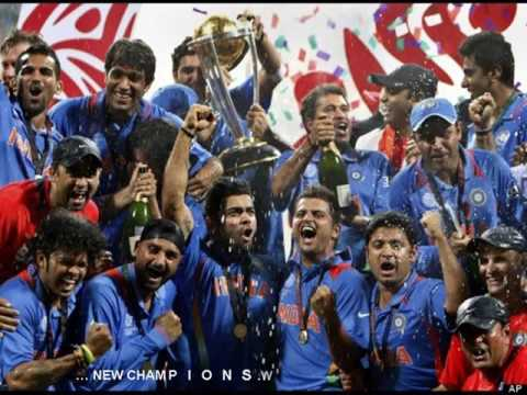 Cricket : India Winning moments of World cup 2011
