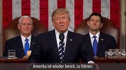 """Trumps erste Rede im US-Kongress: """"Ein neues Kapitel amerikanischer Größe"""""""