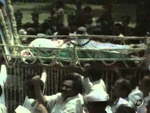 rajiv gandhi funeral