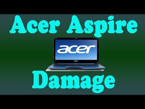 Acer Aspire Damaged Case no Power