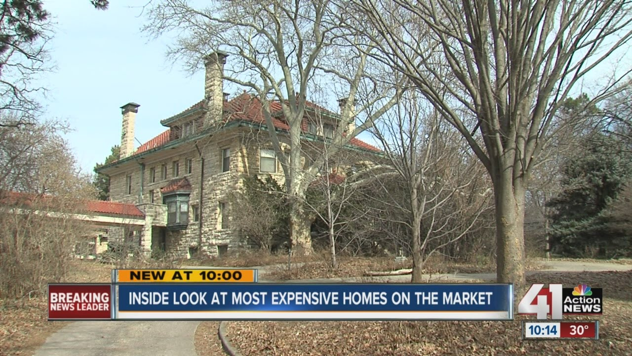 Kansas Citys Luxury Homes Can Be A Tough Sell Youtube