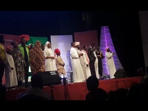Kumawood thrilled performance at Adom TV Nine Lessons and Carols