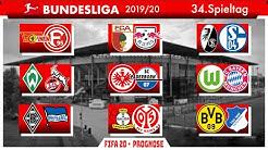FIFA 20: Spieltag 34 (Die finale Konferenz) - Saison 19/20 Bundesliga Prognose l Deutsch [NULL HD]