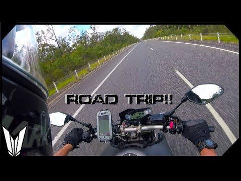 A long road ahead! - Gold Coast to Sydney (MT-09)