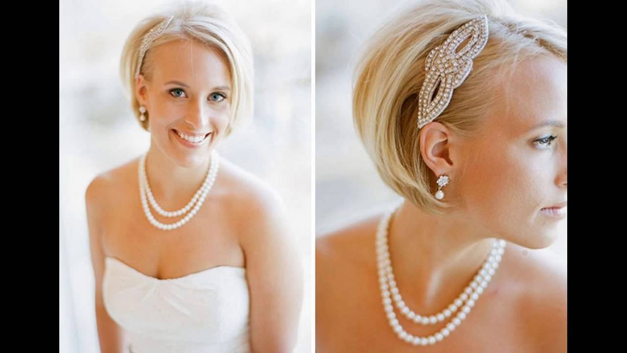 ☆ how to style a short bob for a wedding ☆ style - youtube