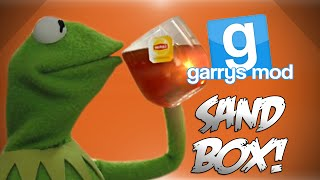GMod Sandbox! - Kermit The Frogger, Golden Gate Field Goals, Traffic Fun & More! (Funny Moments)