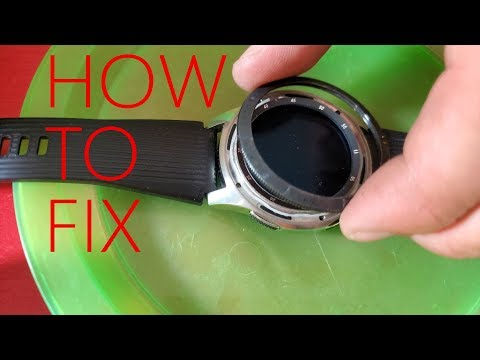 How To Fix Samsung Galaxy Watch Bezel Ring
