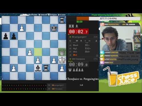 Bullet Match | GM Daniel Naroditsky vs. IM Andrew Tang (Penguingim1) on Lichess.org
