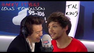 HARRY STYLES VS. LOUIS TOMLINSON -- TALKING/ACCENT (cute & funny)