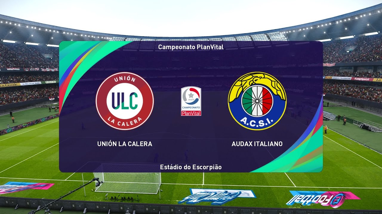 Pes 2021 Union La Calera Vs Audax Italiano Chile Primera Division 04 10 2020 1080p 60fps Youtube
