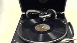 de kakelwals gespeeld door de boertjes van buuten op een alma koffergrammofoon