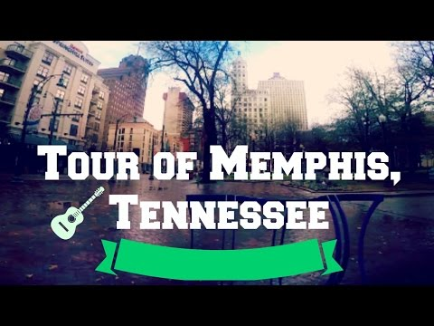 Tour of Memphis Tennessee - GoPro Travel Vlog