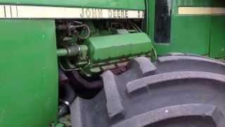 John Deere 8850 Engine Running