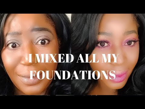 MIXING MY HIGHEND AND DRUGSTORE FOUNDATION FOR 4TH OF JULY BBQ thumbnail