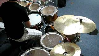bob seger old time rock and roll drum cover